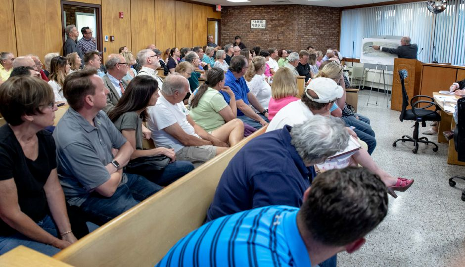 A public hearing was held on the development of a 300 plus apartment complex on Atkins Street in Berlin. | Devin Leith-Yessian/Berlin Citizen