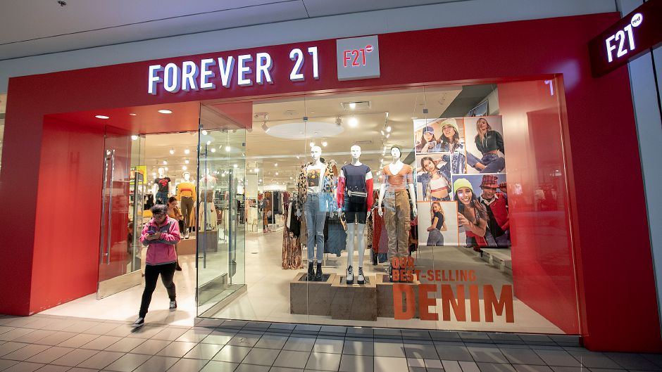 Forever 21 in the Westfield Mall in Meriden, Thurs., Oct. 3, 2019. Dave Zajac, Record-Journal
