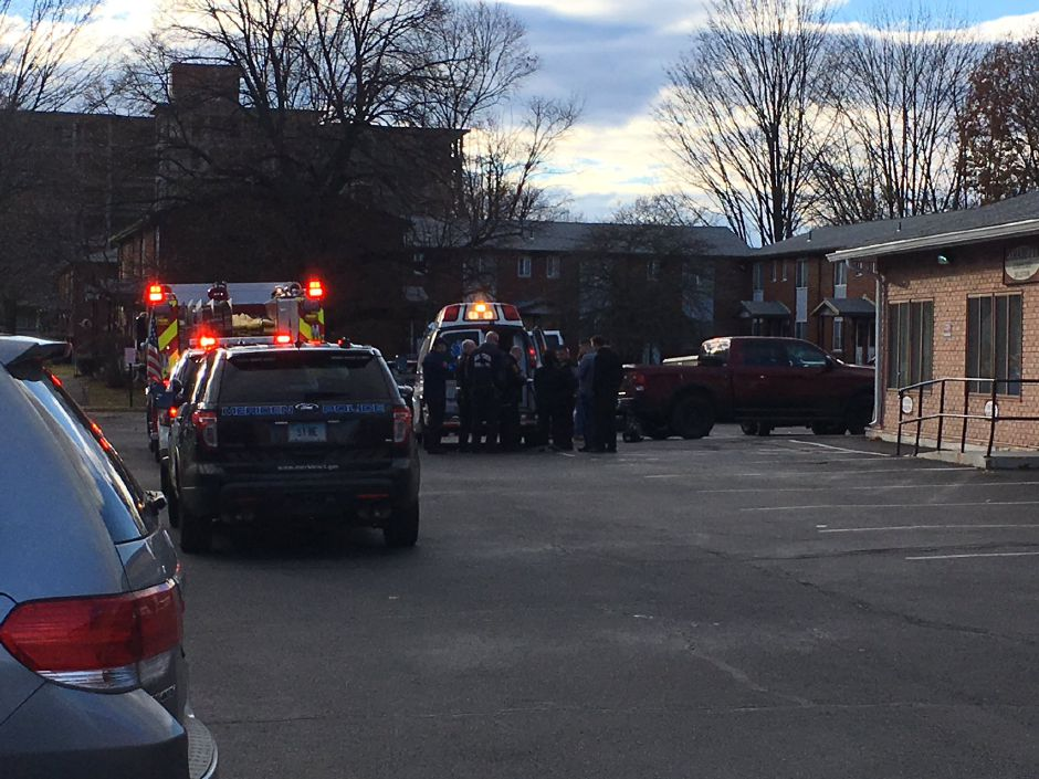 Emergency crews have responded to Pratt Street after a pedestrian was reportedly struck by a car. | Ryan Chichester, Record-Journal