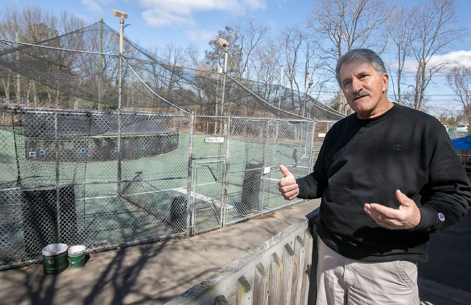 Paul Rossi, owner of Hidden Valley Miniature Golf in Southington, talks about construction of a go-cart track slated to begin this summer, part of a 1 million upgrade to the West Street facility that includes the removal of batting cages, building improvements and redesign of the golf course, Friday, April 20, 2018. Dave Zajac, Record-Journal
