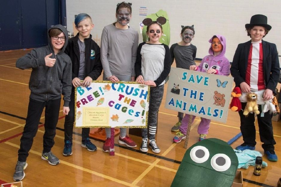Odyssey of the Mind teams made up of students from Durham and Middlefield. | Photo courtesy of Odyssey of the Mind