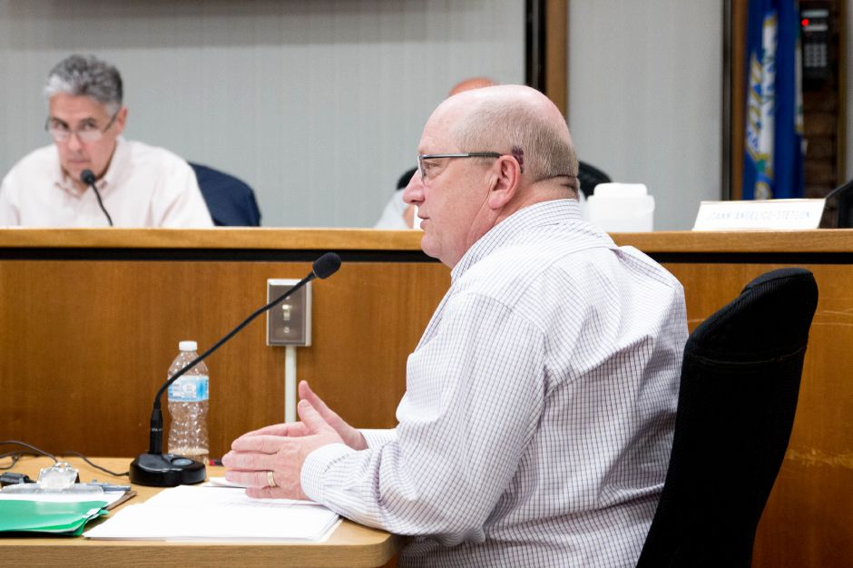Finance Director Kevin Delaney speaks at a June 5, 2018 Town Council meeting. | Devin Leith-Yessian/Berlin Citizen
