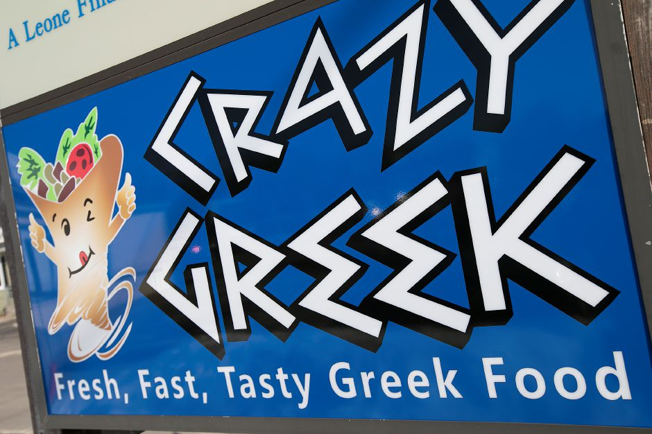 Crazy Greek restaurant at 1143 Meriden-Waterbury Tpke. in Southington, Thursday, February 23, 2017. | Dave Zajac, Record-Journal