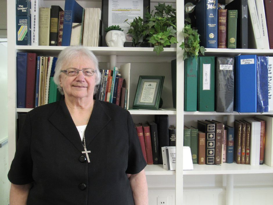 Rev. Margaret Jay is retiring from First Congregational Church in Wallingford. (Jeniece Roman/Record-Journal)