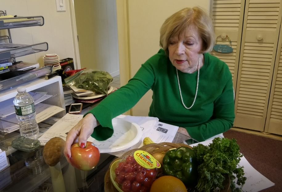 Maryann Meade, registered dietitian of Maryann Meade & Associates, talks about how to eat healthier, Monday, March 18, 2019. 53 Oakdale Circle, Wallingford. |Ashley Kus, Record-Journal