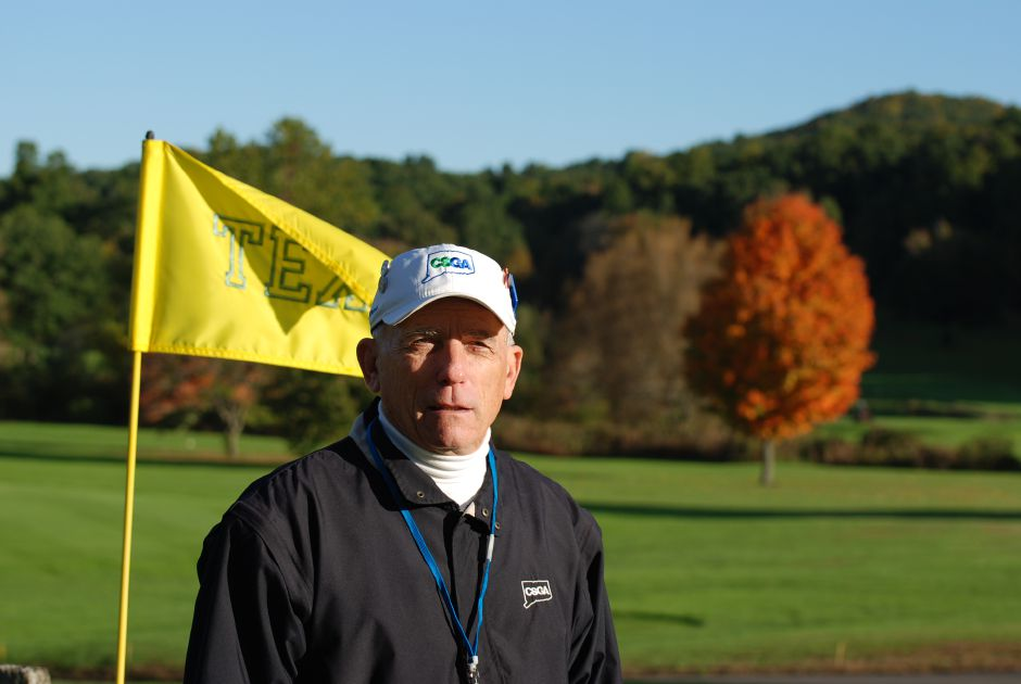 Legendary Meriden golfer Les Zimmerman, the winner of 12 city championships and five club championships at Hunter Golf Club, received the Volunteer of the Year Award from the Connecticut State Golf Association. | Photo courtesy of Brett Zimmerman