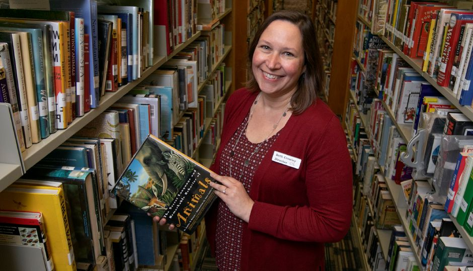 Beth Crowley is the new director of the Cheshire Public Library. Dave Zajac, Record-Journal