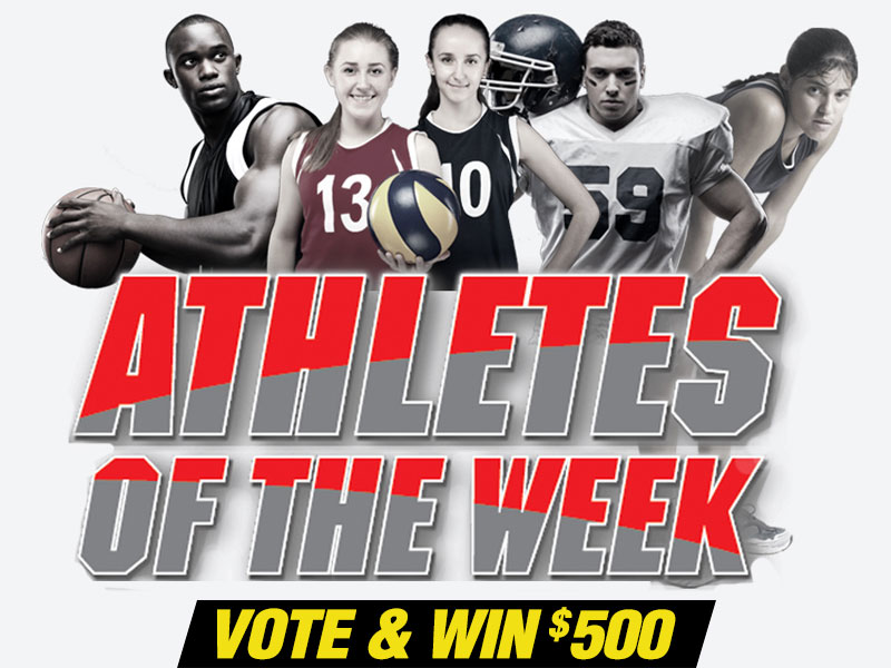 Vote Every Week for Your Favorite Local Athletes!