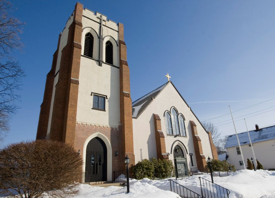 SS. Peter & Paul Catholic Church at 139 North Orchard St. in Wallingford. | Dave Zajac, Record-Journal