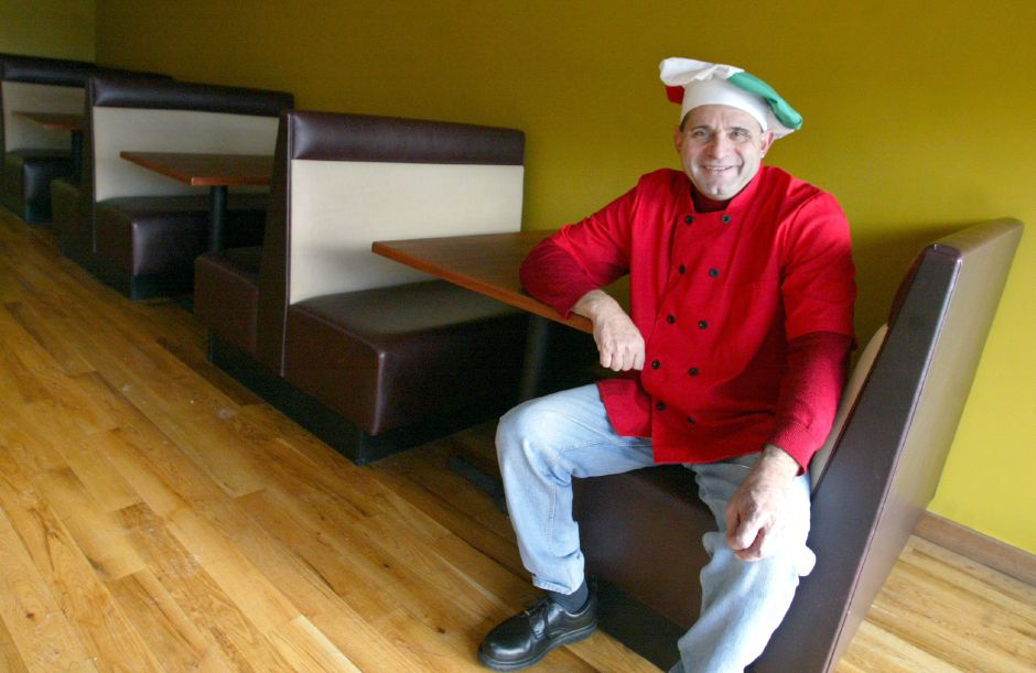 Ralph Secondo will be opening the Popular Restaurant in Southington in February 2006. Secondo is general manager and head chef at the business located at 75 Center Street. (dave zajac photo)(January 25, 2006)