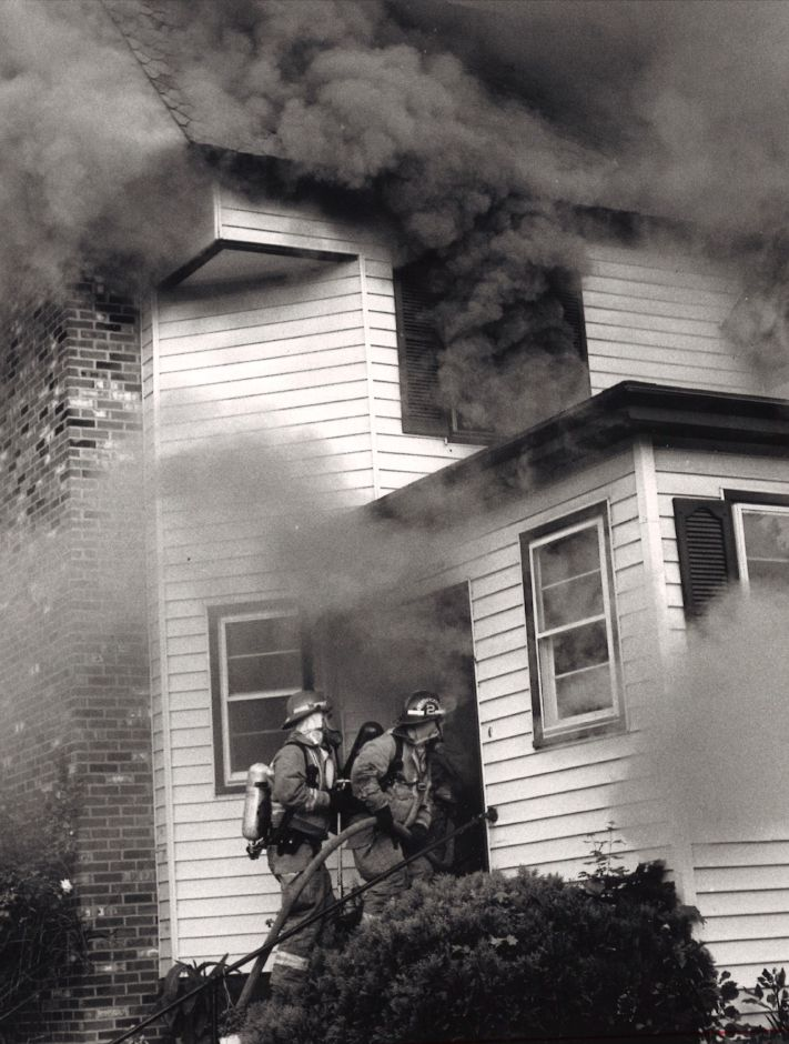 A 1992 house fire in Southington.
