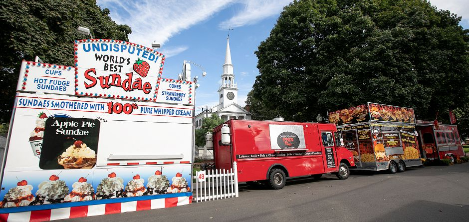Food vendors line Main Street as setup continues for this year