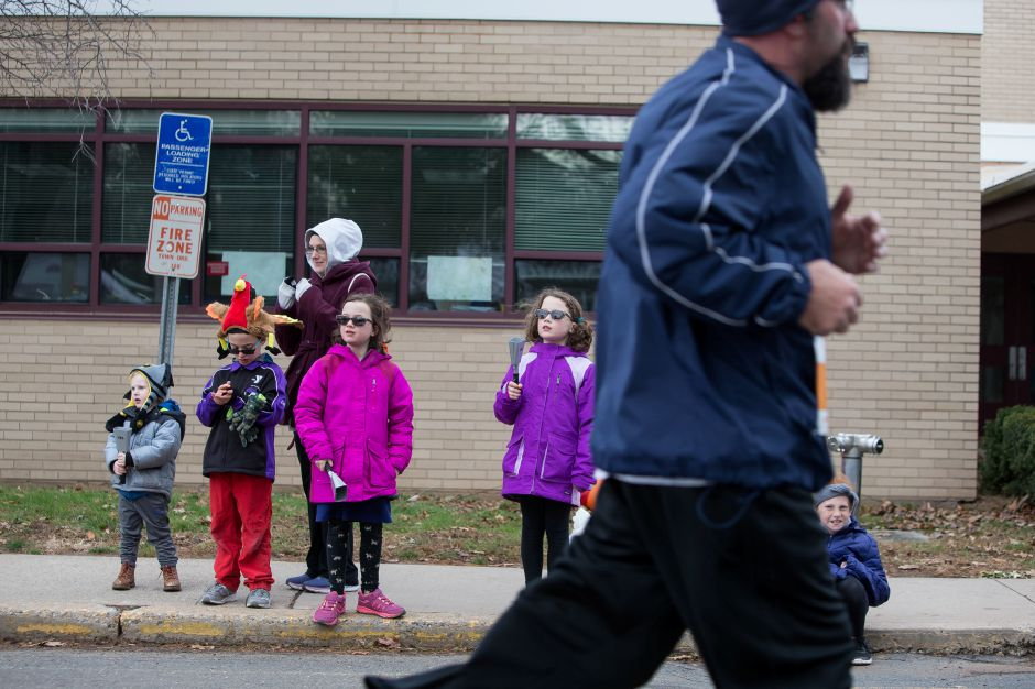 Sunday during the Kiwanis Turkey Trot 5k and 5 mile at Stephens School in Wallingford November 18, 2018 | Justin Weekes / Special to the Record-Journal