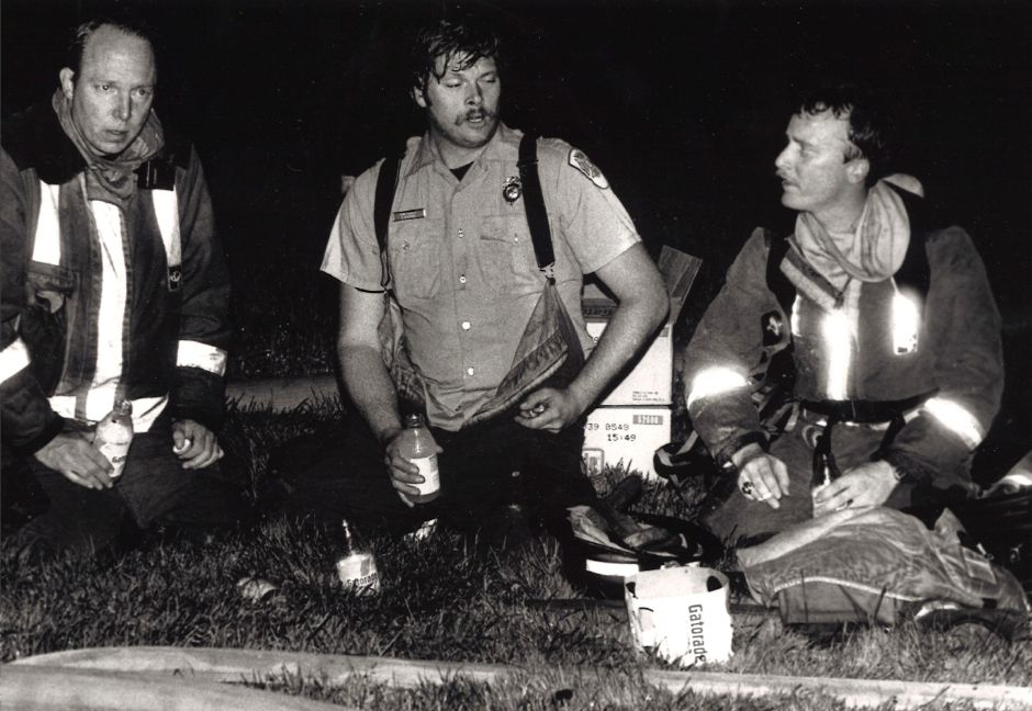 Local firefighters. 1990.