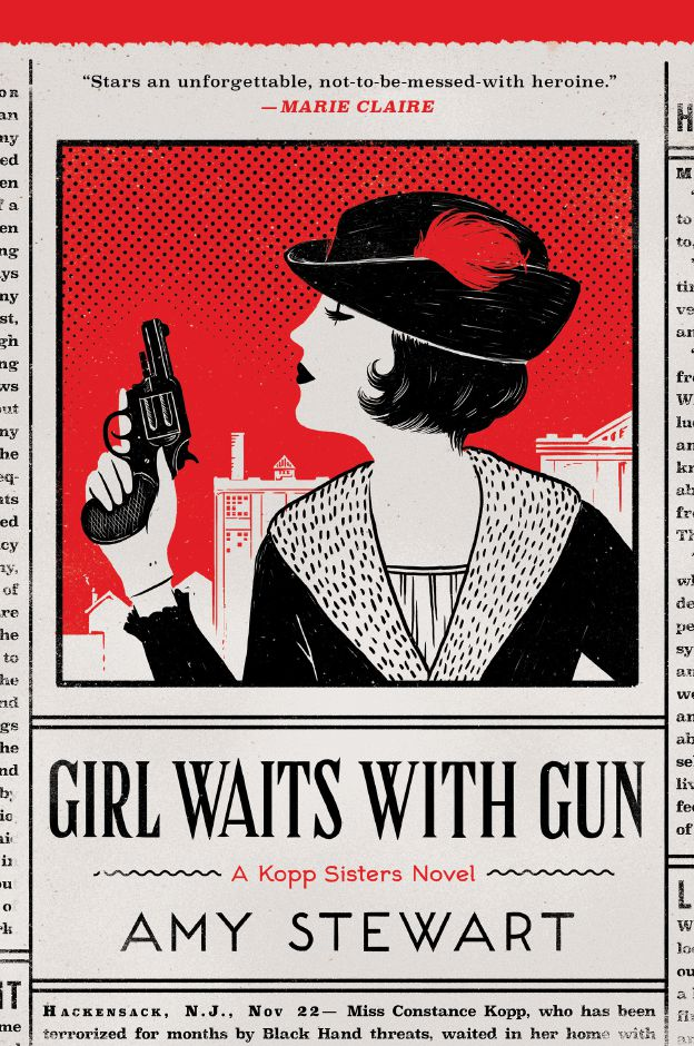 """Girl Waits With Gun,"" by Amy Stewart, is the Wallingford Public Library's book selection for this year's One Book One Wallingford program. 