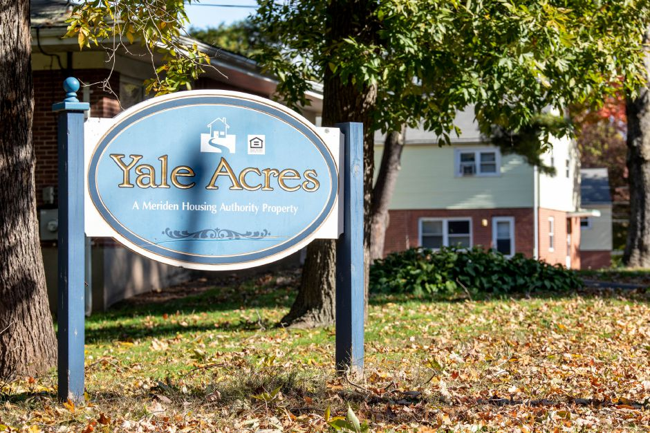 The Meriden Housing Authority is preparing to begin renovations at the Yale Acres moderate income public housing property, photographed on Oct. 24, 2018. Many of the homes along Broadvale, Elizabeth and Gilbert Roads are vacant. | Devin Leith-Yessian/Record-Journal
