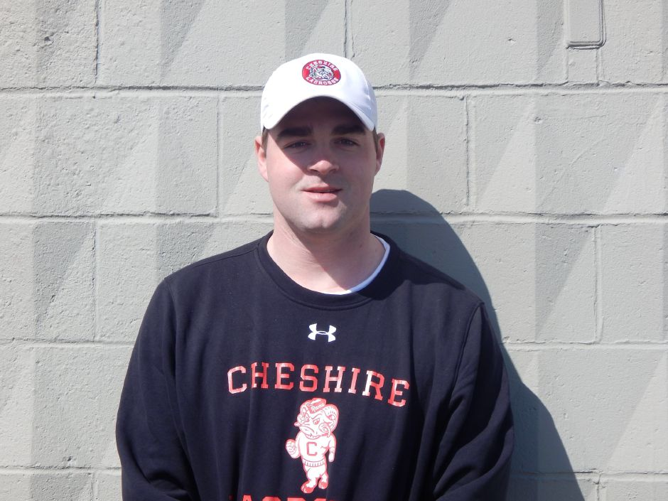 Mike Devine is the new Cheshire High School boys lacrosse head coach. Devine graduated from Cheshire in 2010 and won state titles in both lacrosse and ice hockey.