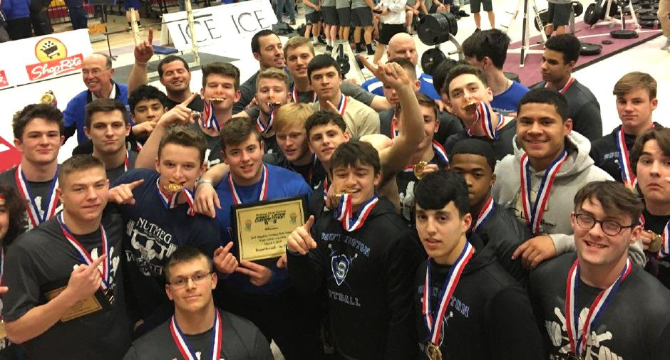 Southington High School came in 1st Place with a total of 13,130 lbs lifted!