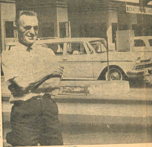 Toll station superintendent Charles Svihovec of Middletown in 1962. | Record-Journal archives