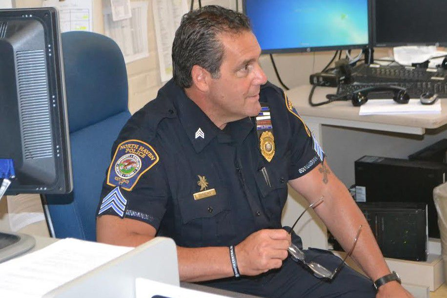 Retired North Haven Police Sgt. Robert DePalma, in an undated photo, who retired on July 16, 2018 to become a school resource officer. | Courtesy of Ted Stockmon