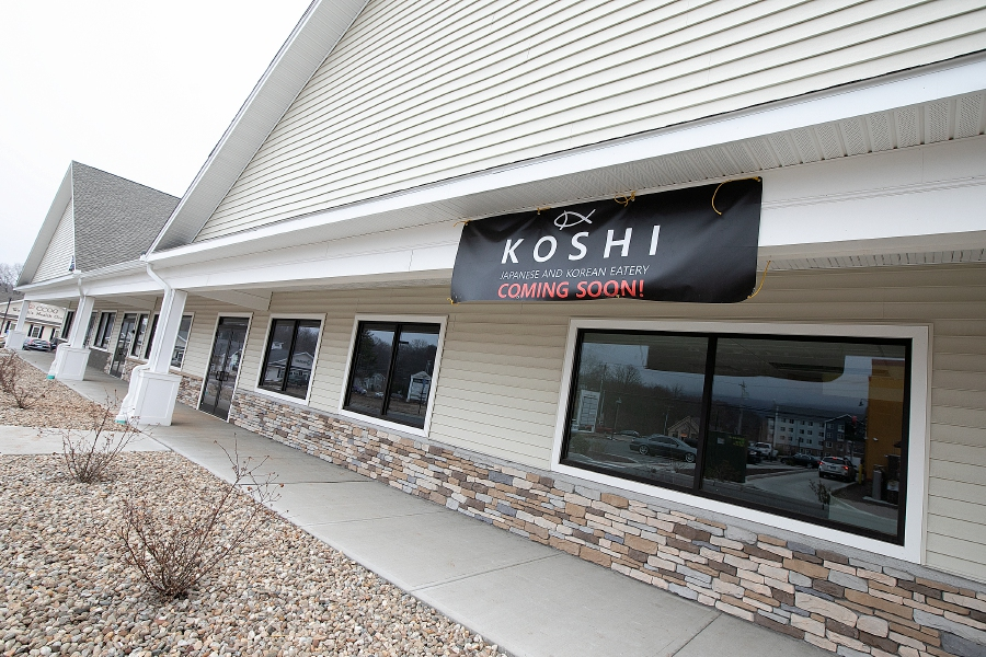 Koshi Japanese and Korean Eatery is coming soon to the plaza at 1095 West St. in Southington.