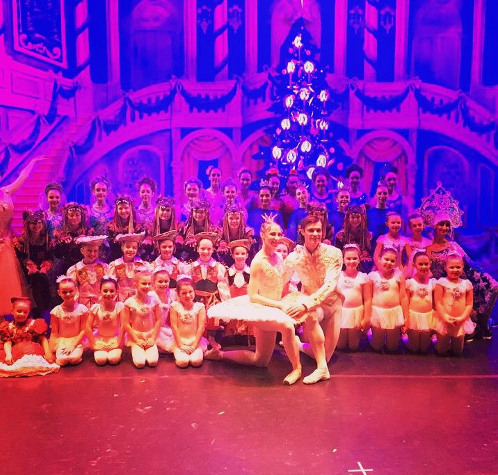 Dancers from Fusion Fitness & Dance perform with the Moscow Ballet in the Great Russian Nutcracker Oakdale performance, Dec. 2017. |Courtesy of Kayt Messina