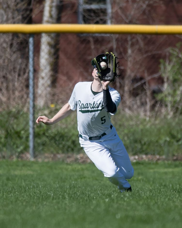 Ethan Brazel hit two of Maloney's three home runs in Thursday's 7-3 victory at Rocky Hill. | Justin Weekes / Special to the Record-Journal