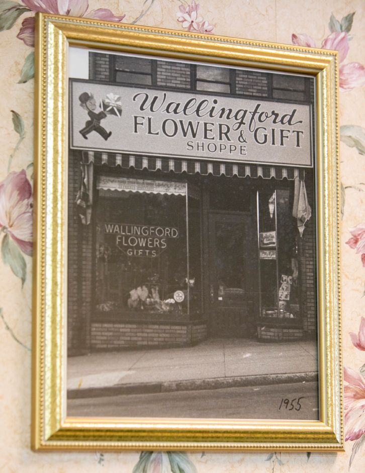 Wallingford Flower and Gift Shoppe in 1955. Owner Ann Greco, 92, received a mayoral proclamation declaring Friday as Ann Greco Day in town. Dave Zajac, Record-Journal