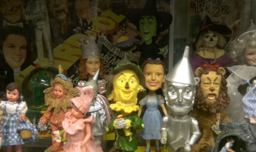 A newly donated Wizard of Oz collection is featured.