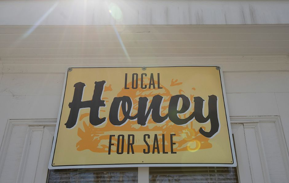 Winterberry Gardens, 2070 West St., Southington sells its own honey, Wed., Mar. 27, 2019. The business opens Monday April 1. Dave Zajac, Record-Journal