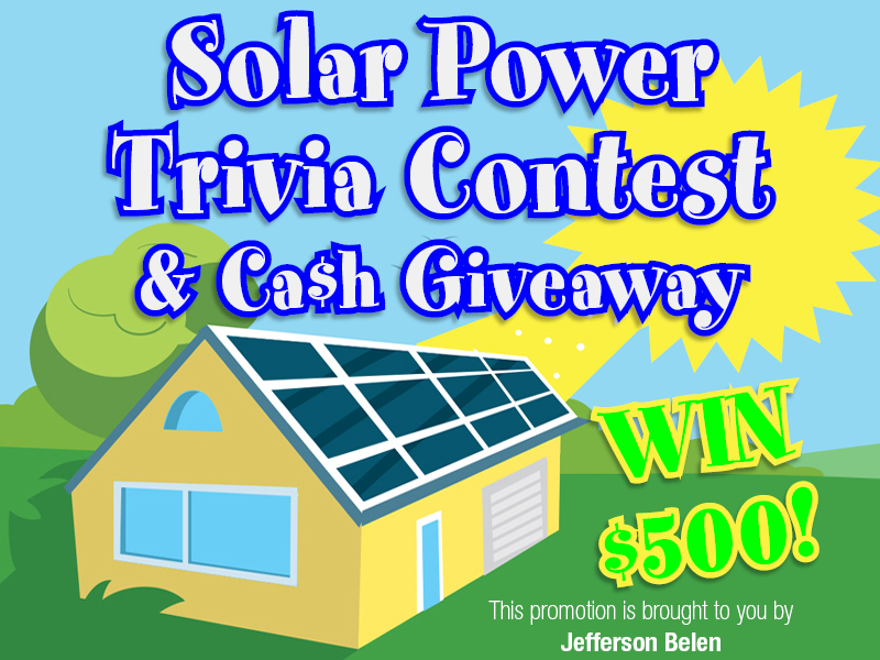 Do You Know Solar? Prove it and win CASH!