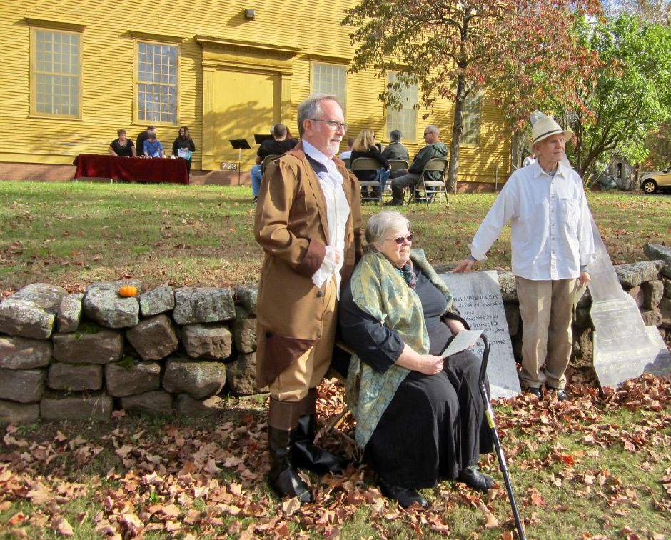 Spirits and others will tell their stories on Saturday, Oct. 27 at on the lawn of the Worthington Meeting House.