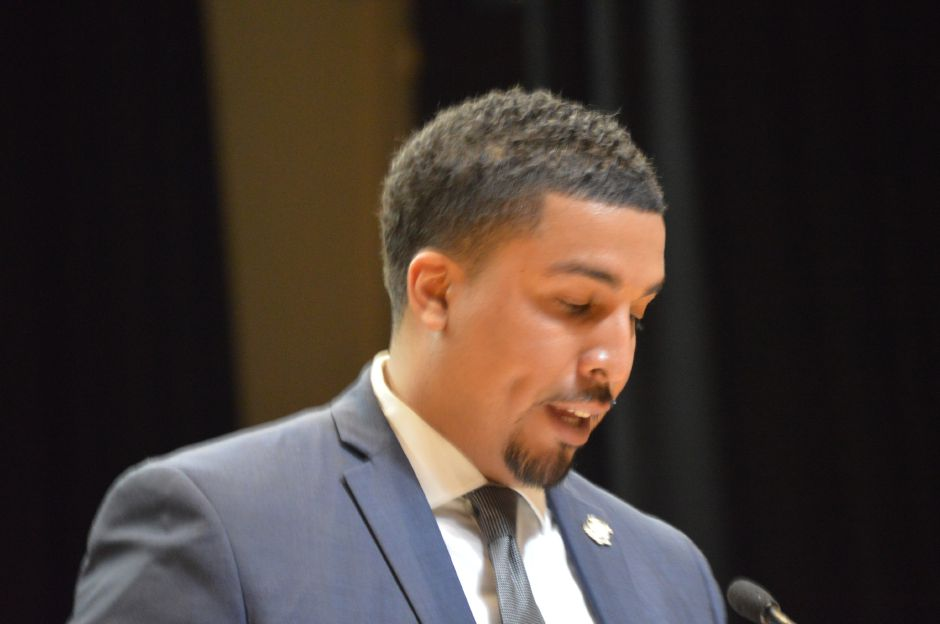 New Britain Alderman Emmanuel Sanchez ended his bid Wednesday for the 5th Congressional District, despite qualifying for the Democratic pimary. | Mike Savino, Record-Journal