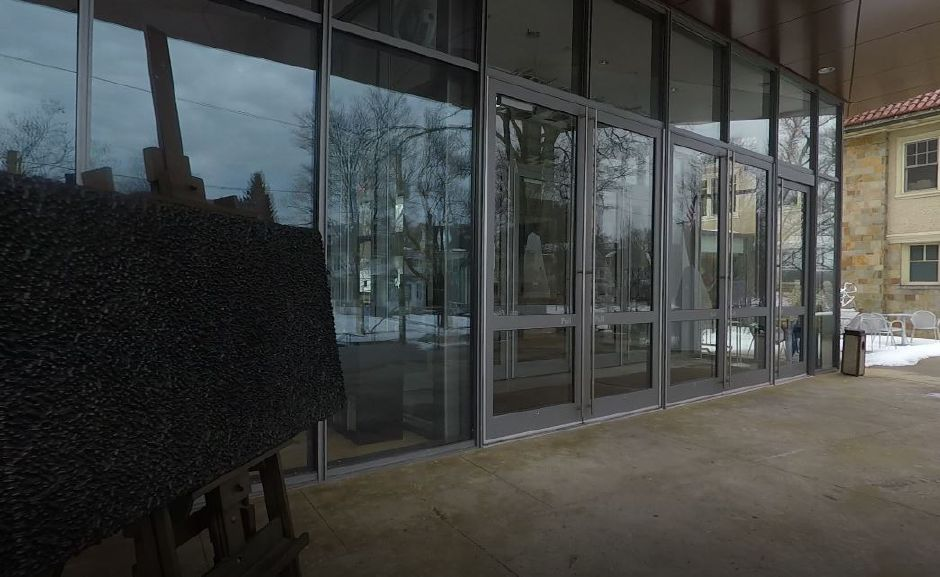 The entrance to New Britain Museum of American Art, 56 Lexington St., New Britain. |Ashley Kus, Record-Journal