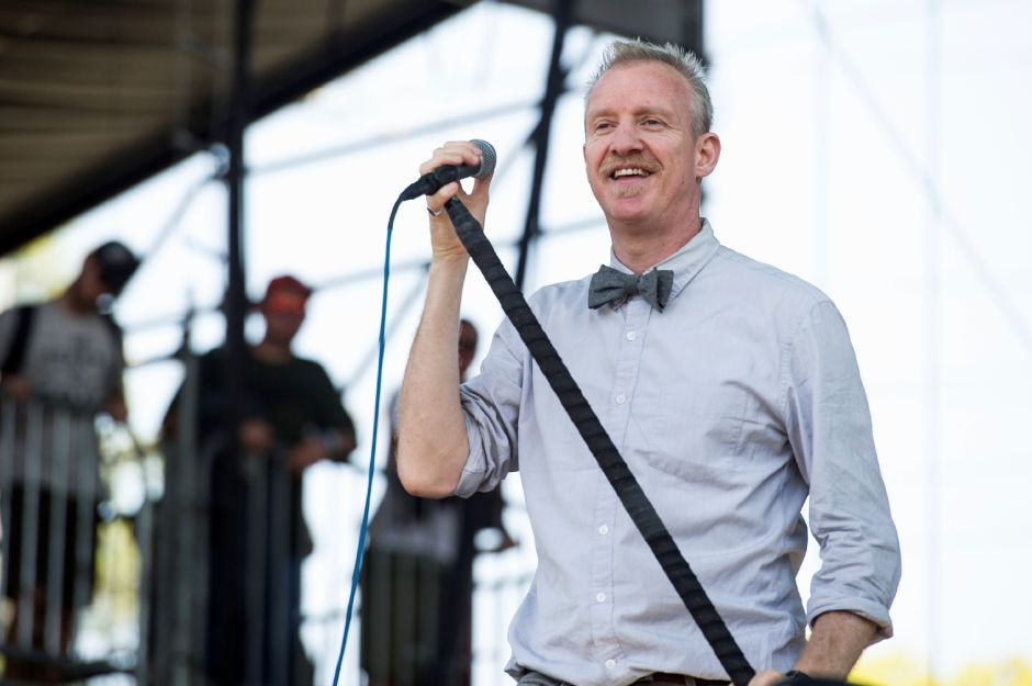 Chris Barron of the Spin Doctors performs at the 2nd Annual BottleRock Napa Festival at Napa Valley Expo on June 1, 2014, in Napa, Calif. (Photo by Amy Harris/Invision/AP)