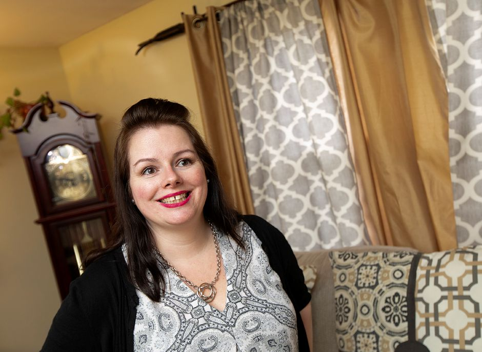 Rachel Williams, a city resident who decided to move to Meriden after attending her first St. Patrick's Day parade in 2014, has been named grand marshal of Saturday's 46th annual parade. Dave Zajac, Record-Journal