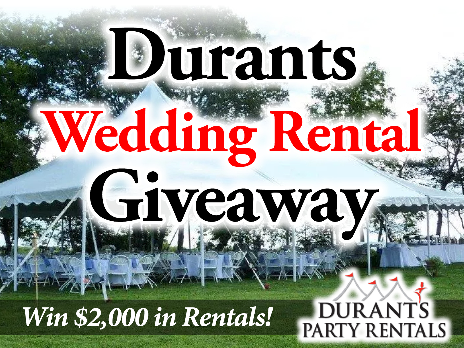 Win $2,000 in Party Rentals!