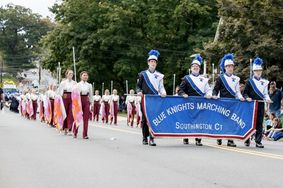 Sunday during the Southington Apple Harvest Festival Parade in Southington September 30, 2018 | Justin Weekes / Special to the Record-Journal
