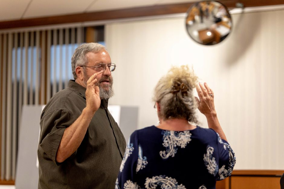 Charles Paonessa was appoint to fill the vacant Republican seat on the Berlin Town Council on Sept. 18, 2018. The opening was created after Counselor Amy Danielle resigned for family reasons earlier in the month. | Devin Leith-Yessian/Berlin Citizen