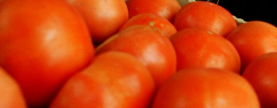 FILE PHOTO: Tomatoes at the Farmers' Market on the Cheshire Green .