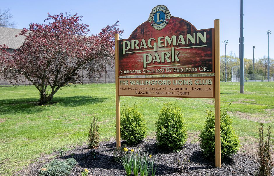 Pragemann Park in Wallingford, Mon., May 6, 2019. Dave Zajac, Record-Journal