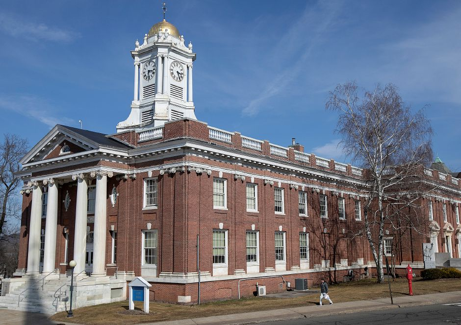Meriden City Hall, Thurs., Mar. 14, 2019. Dave Zajac, Record-Journal