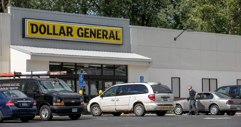 The new Dollar General store, 66 Broad St., Meriden, is close to opening. Dave Zajac, Record-Journal