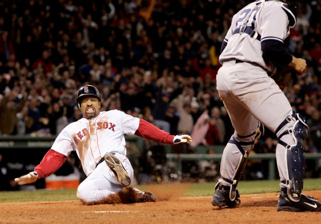 FILE - In this Oct. 17, 2004, file photo, Boston Red Sox