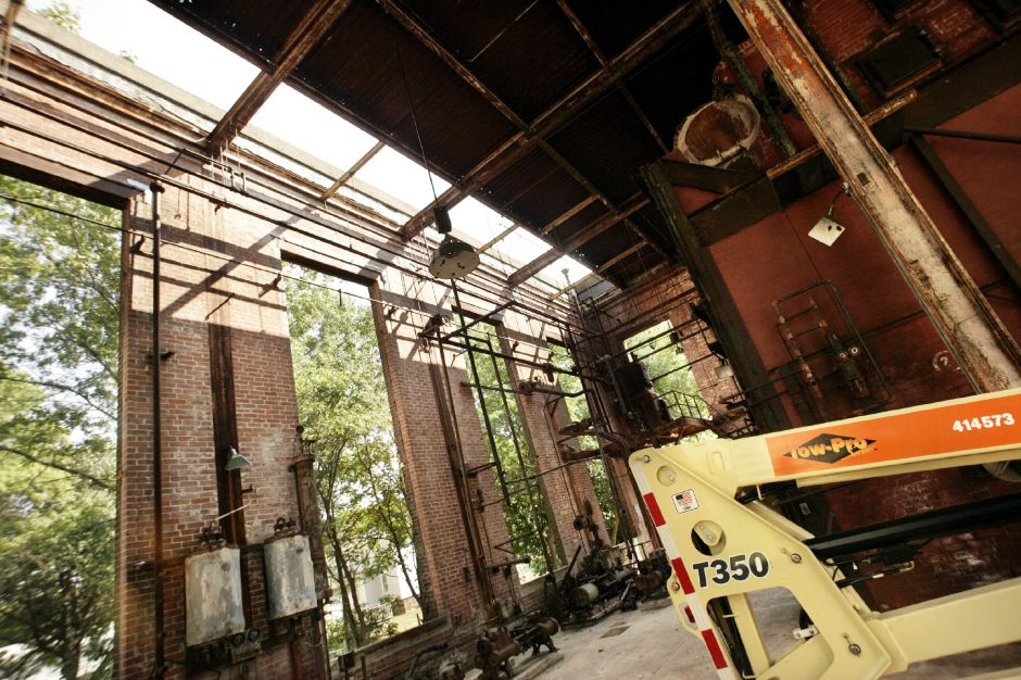 Inside the power house for the former Factory H off Cherry St. in Meriden Mon., Sept. 12 after being cleaned of asbostos, broken windows, and other debris by Fleet Environmental Services LLC of Berlin.