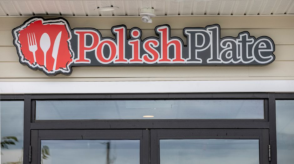 Work continues on the Polish Plate, a new restaurant under construction at 1095 West St. in Southington, Mon., Sept. 16, 2019. Dave Zajac, Record-Journal