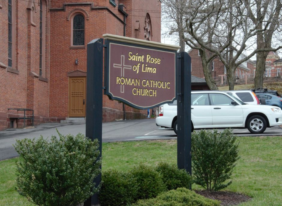 St. Rose Church, 35 Center St. Meriden, on Friday, April 12th, 2019. | Maxine Philavong, Special to the Record Journal.