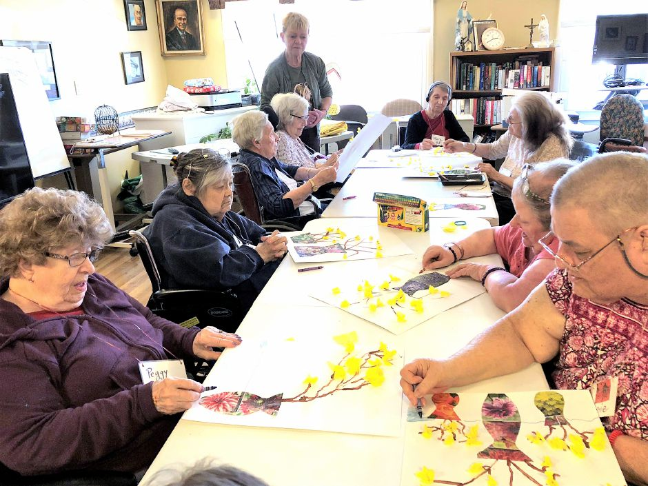 The Garden Therapy group at Skyview has many regulars, and often a new member.