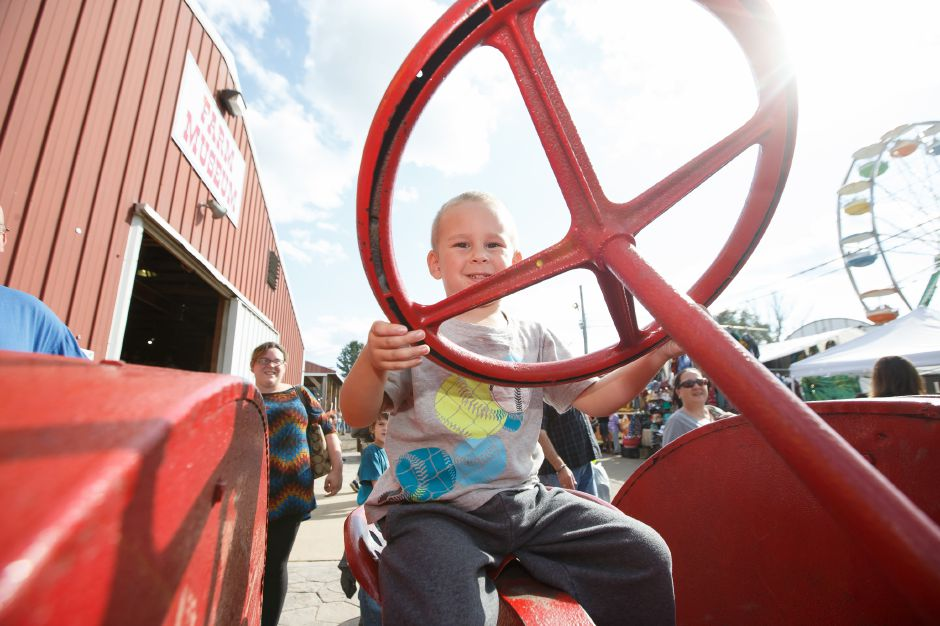 1Saturday during the 99th Durham Fair on the Durham Fairgrounds in Durham September 29, 2018 | Justin Weekes / Special to the Record-Journal