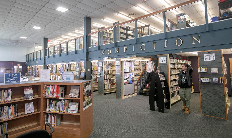 The Southington Public Library, Mon., May 6, 2019. The library will hold an information session on the library